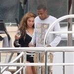 Beyonce spends 31st birthday with Jay-Z & Blue Ivy on a yacht in the South of France  124992