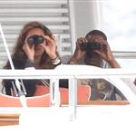 Beyonce spends 31st birthday with Jay-Z & Blue Ivy on a yacht in the South of France  125009