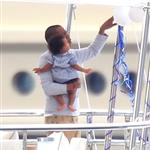 Beyonce spends 31st birthday with Jay-Z & Blue Ivy on a yacht in the South of France  125020