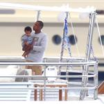 Beyonce spends 31st birthday with Jay-Z & Blue Ivy on a yacht in the South of France  125024