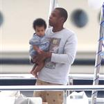 Beyonce spends 31st birthday with Jay-Z & Blue Ivy on a yacht in the South of France  125027