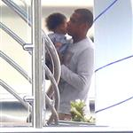 Beyonce spends 31st birthday with Jay-Z & Blue Ivy on a yacht in the South of France  125033