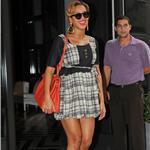 Beyonce leaves her hotel in NYC September 2011 96097