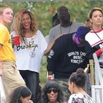 Santigold, Jay-Z and Beyonce seen at the Made in America Festival 125041