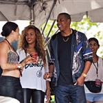 Jay-Z and Beyonce seen at the Made in America Festival 125043