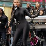 Beyonce performs in spandex catsuit on Today Show with no camel toe 28159