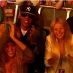 Gwyneth Paltrow spends Glastonbury with Jay-Z and Beyonce 88503