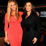 Beyonce and Tina Knowles attend the after party following Jay-Z's concert at Carnegie Hall to benefit The United Way Of New York City and the Shawn Carter Foundation 104975