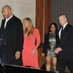 Beyonce attends the after party following Jay-Z's concert at Carnegie Hall to benefit The United Way Of New York City and the Shawn Carter Foundation 104983