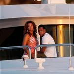 Beyonce and Jay-Z happy on holiday on a yacht in St Barts ringing in first New Year as married couple 29882