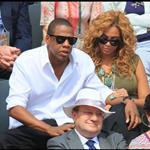 Jay-Z and Beyonce watch French Open final June 2010  62684