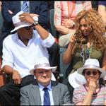 Jay-Z and Beyonce watch French Open final June 2010  62685