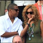 Jay-Z and Beyonce watch French Open final June 2010  62688