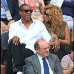 Jay-Z and Beyonce watch French Open final June 2010  62692