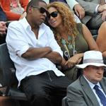 Jay-Z and Beyonce watch French Open final June 2010  62698