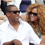 Jay-Z and Beyonce watch French Open final June 2010  62701