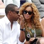 Jay-Z and Beyonce watch French Open final June 2010  62702