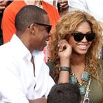 Jay-Z and Beyonce watch French Open final June 2010  62705