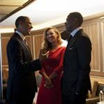 Beyonce and Jay-Z with President Obama  126808