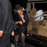 Beyonce arrives at The Alternative Education Complex in New York City 111684