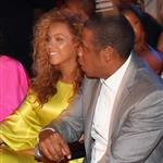 Beyonce, Jay-Z, Kanye West and his girlfriend last night at the BET Awards 119433