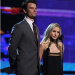 Kristen Bell and Josh Duhamel at the Grammys 2010 54369