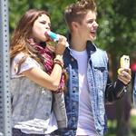Justin Bieber and Selena Gomez have ice cream together, June 2012 119792
