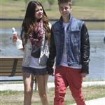 Justin Bieber and Selena Gomez have ice cream together, June 2012 119801