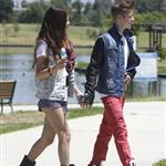 Justin Bieber and Selena Gomez have ice cream together, June 2012 119802