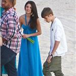 Justin Bieber and Selena Gomez at a friend's wedding in Mexico 100351
