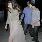 Justin Bieber and Selena Gomez go to a show in West Hollywood 124278