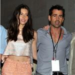 Jessica Biel and Colin Farrell at Comic-Con July 2011 91429