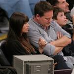 Jessica Biel attends a Los Angeles Lakers vs the Boston Celtics Game at the Staples Center in Los Angeles 109535