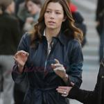 Jessica Biel in Vancouver on the set of A-Team 48173