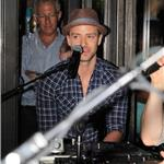 Justin Timberlake performs a surprise concert at his restaurant Southern Hospitality in New York City 93116