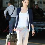 Jessica Biel arrives in Vancouver to shoot A-Team 47614