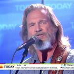 Jeff Bridges appears on NBC's Today Show 92069