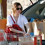 Rachel Bilson shows off engagement ring while shopping for groceries 33689