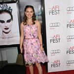 Natalie Portman at Black Swan AFI Fest closing night 72900
