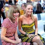 Blake Lively sits next to Anna Wintour at Fashion's Night Out 2010  68361
