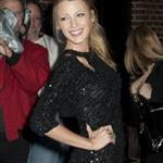 Blake Lively at Letterman promoting The Town 69651
