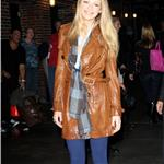 Blake Lively at Letterman promoting The Town 69656