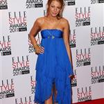 Blake Lively named Best TV Star at the 2011 ELLE Style Awards in London  79179