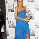 Blake Lively named Best TV Star at the 2011 ELLE Style Awards in London  79182