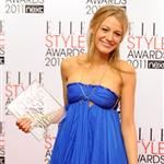 Blake Lively named Best TV Star at the 2011 ELLE Style Awards in London  79185