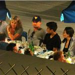 Leonardo DiCaprio on vacation in Capri with his mother 89636