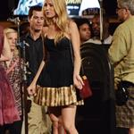 Blake Lively on the set of Gossip Girl  122468