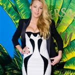 Blake Lively at the Versace H&M presentation in New York  98050