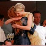 Blake Lively with Clemence Posey on the Chanel Cruise 2011 85099