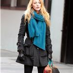 Blake Lively on the set of Gossip Girl in NYC 100665
